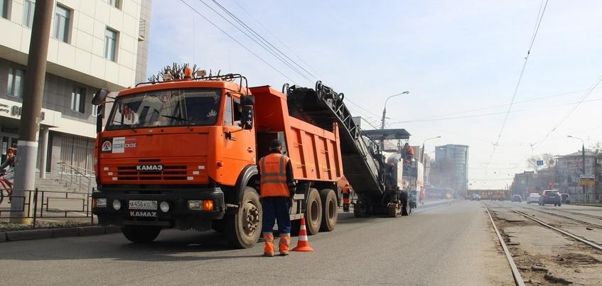 Ремонт дорог начался на двух улицах Ижевска