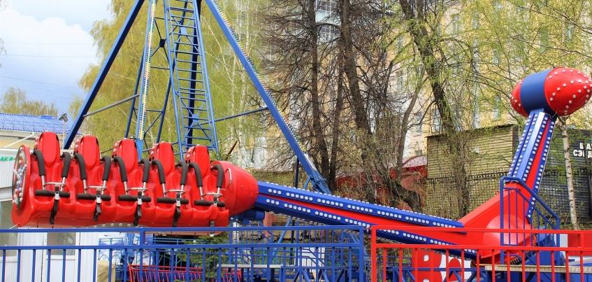 Новый экстремальный аттракцион появился в Летнем саду Ижевска