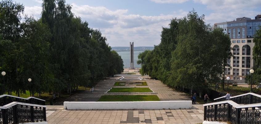 На ремонт эспланады в Ижевске направят 109 млн рублей