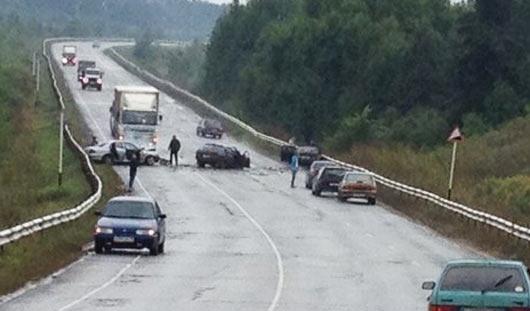 На объездной дороге в Воткинске в ДТП погибли два человека