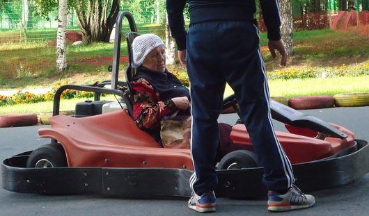 Пожилая ижевчанка  прокатилась «с ветерком» на карте