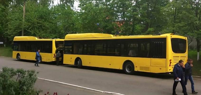 Два новых автобуса на газе выйдут на улицы Ижевска