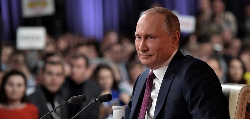 Жители Ижевска могут задать вопрос Владимиру Путину