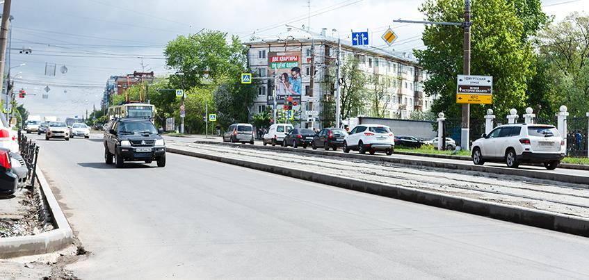 Запрет на парковку и видеокамеры появятся на участке улицы Ленина в Ижевске