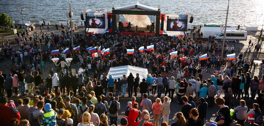39 ярких фото с празднования Дня города и Дня России в Ижевске