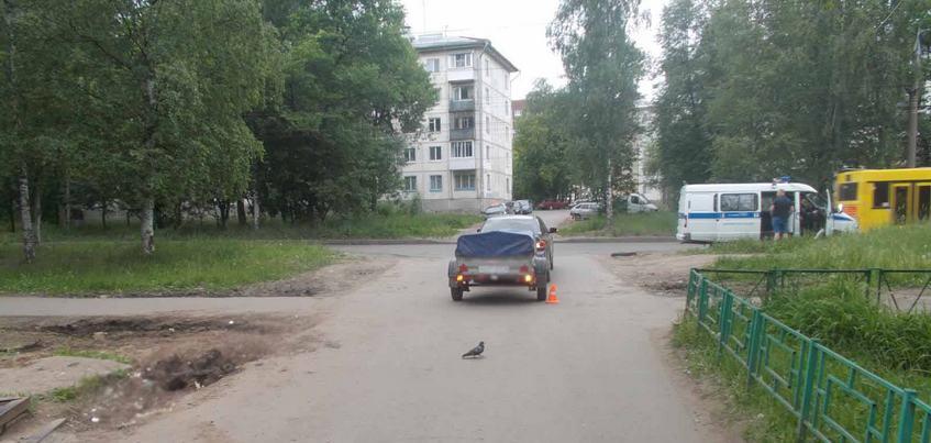 Водитель «Тойоты» сбил двухлетнего мальчика в Ижевске