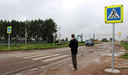 77 нерегулируемых пешеходных переходов Удмуртии переоборудовали к 1 сентября