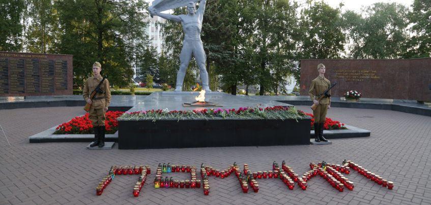 Память погибших на войне почтили в Ижевске
