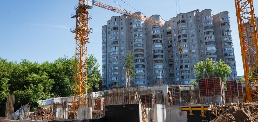 Ввод жилья в Удмуртии вырос на четверть