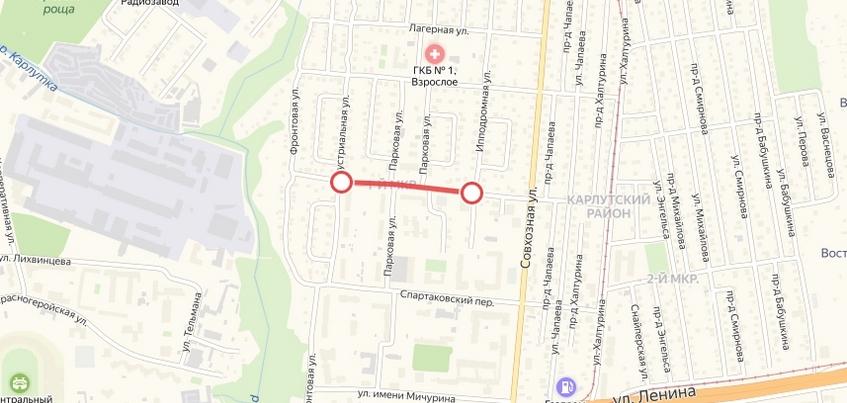 Движение на улице Герцена закрыли в Ижевске