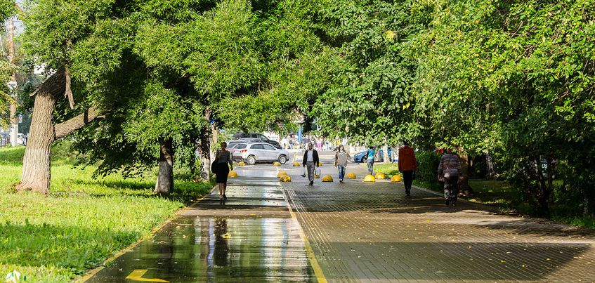 Дождь ожидается 27 июня в Ижевске