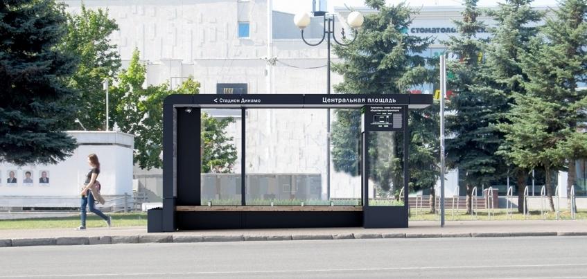 Семь «умных» остановок в Ижевске установят на улице Пушкинской