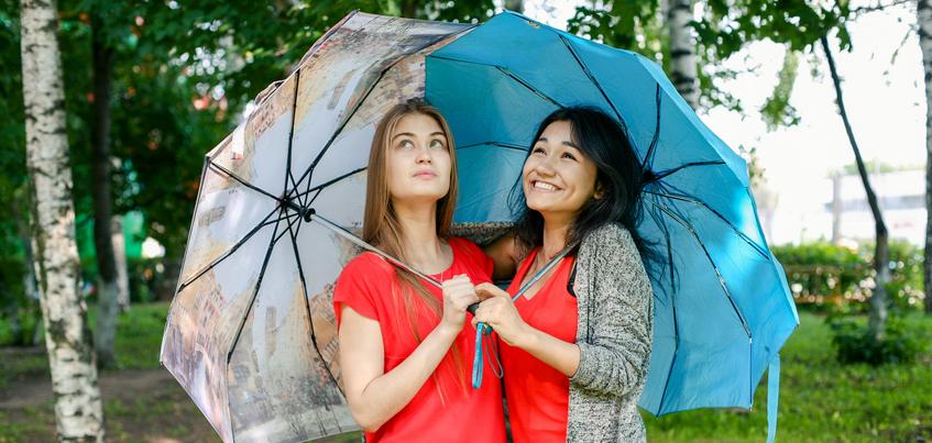 Погода в Ижевске: тепло до +24°С и дожди