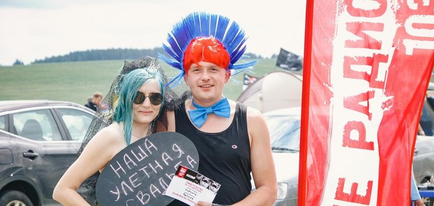 «Давай поженимся» на «Улетае»: на рок-фестивале под Ижевском снова откроют «улетный» ЗАГС
