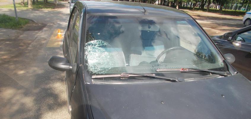 Водитель «Рено» сбил девочку в Ижевске