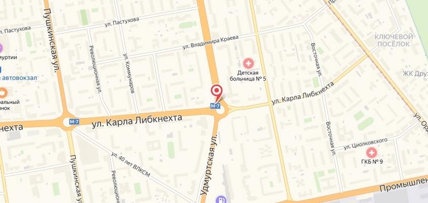 Движение на кольце по Удмуртской частично закроют в Ижевске