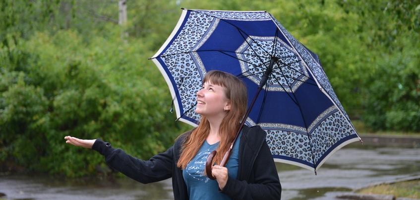 Погода в Ижевске: дождливо и тепло до +22°С