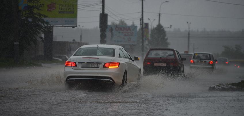 Жителей Удмуртии предупреждают о сильных дождях