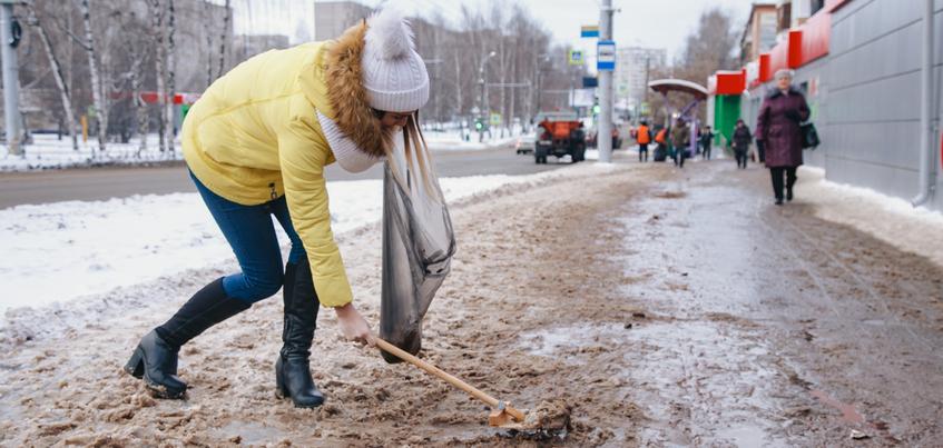 Откажется ли Ижевск от песка при обработке зимних дорог?