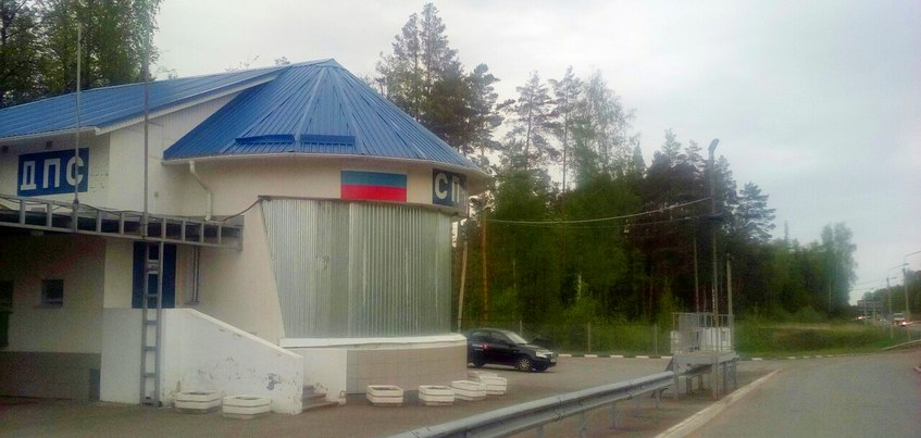 Пост ГИБДД на Якшур-Бодьинском тракте под Ижевском планируют снести