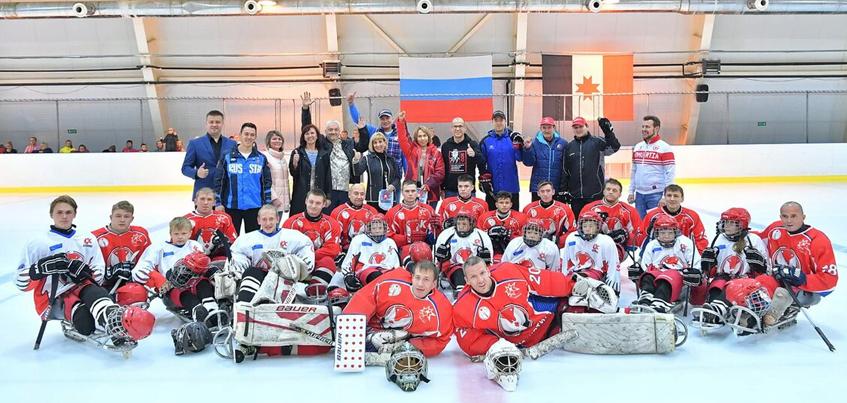 Дети с ограниченными возможностями из Удмуртии смогут играть в хоккей