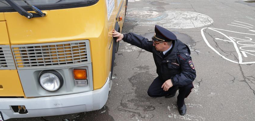 Маршруты школьных автобусов проверили в Ижевске
