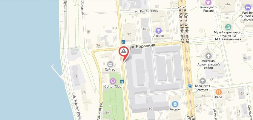 Улицу Горького закроют в Ижевске на выходные