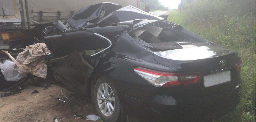 Водитель «Тойоты» попал в реанимацию после столкновения с МАЗом в Удмуртии