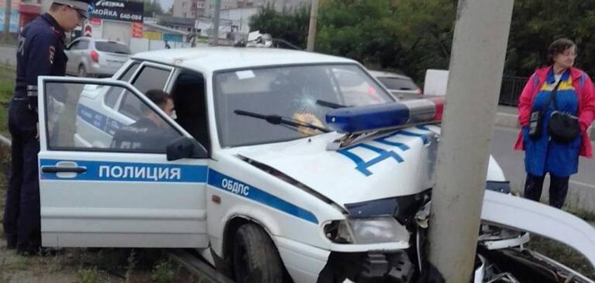 Авария с машиной ДПС в Ижевске: водитель ВАЗа оказался «закладчиком»