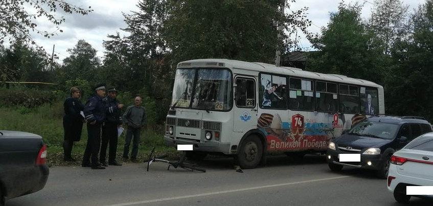 Водитель автобуса в Удмуртии сбил 8-летнего велосипедиста