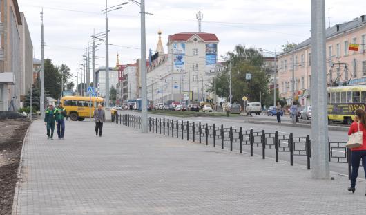 15 сентября в Ижевске откроется пешеходная часть улицы  Карла Маркса