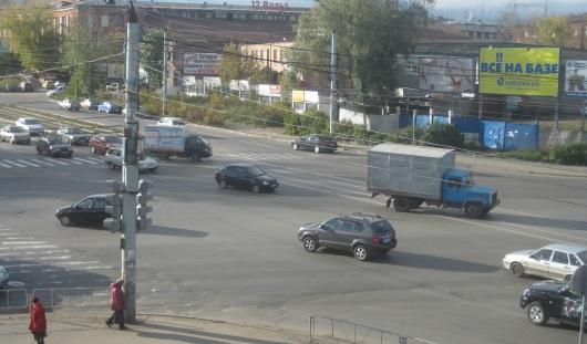 В Ижевске на улице Удмуртской у ТЦ «Флагман» разрешат разворот