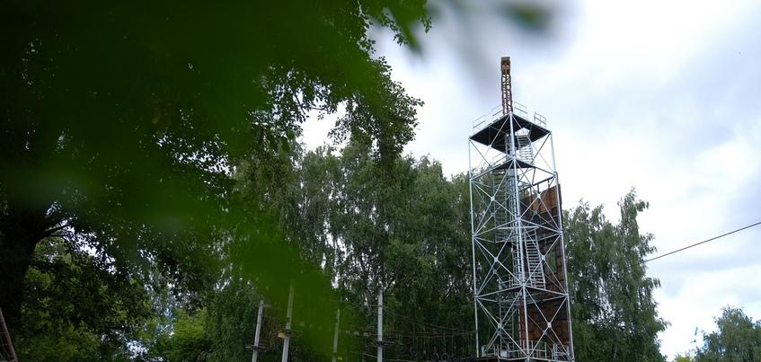 500 тонн макулатуры хотят собрать в Ижевске для восстановления парашютной вышки