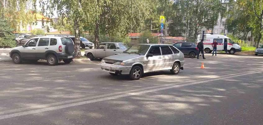 Водитель ВАЗа в Ижевске «отправил» пенсионера в больницу