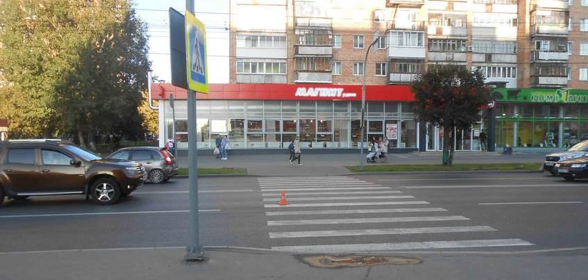 Водитель иномарки сбил школьника на зебре в Ижевске