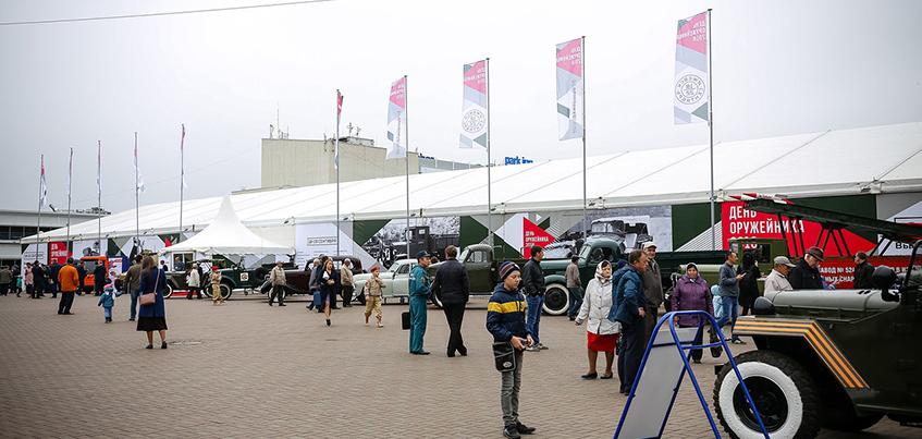 Ижевчане смогут посетить выставку военной техники заводов Удмуртии