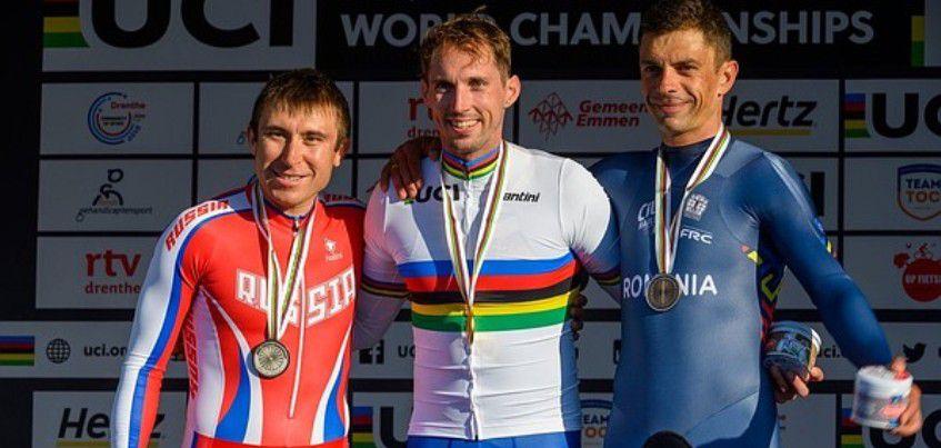 Спортсмен из Удмуртии завоевал серебро на чемпионате мира по паравелоспорту на шоссе