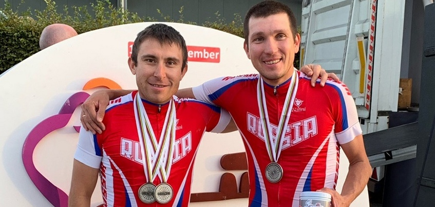 Три серебра завоевали паравелогонщики из Удмуртии на чемпионате мира