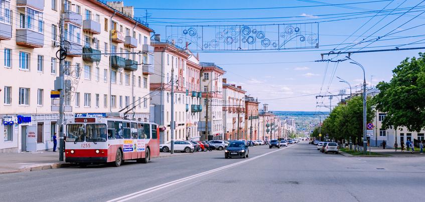 Движение троллейбусов по ул. Пушкинской закроют в Ижевске