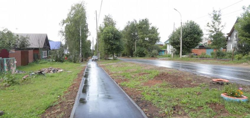 Ремонт тротуаров завершается в Ижевске