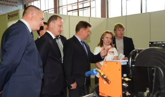 Промышленность 13 российских регионов представлена на выставках в Ижевске