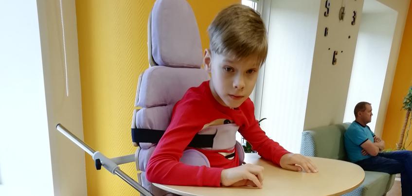 Мама 10-летнего Ярослава: «Сын встанет на ноги, ему просто нужно помочь…»