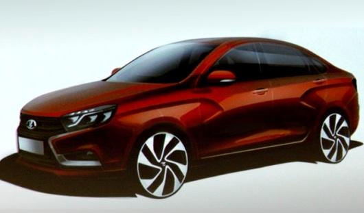 12 сентября в Ижевске представят концепт автомобиля LADA Vesta