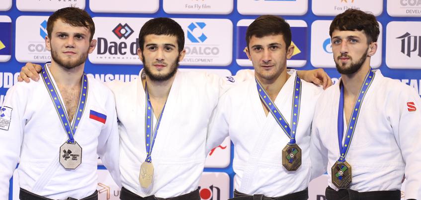 Сборная России выиграла три золота в первый день Первенства Европы по дзюдо в Ижевске