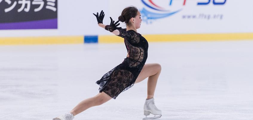 Фигуристка из Ижевска Алина Загитова стала второй в короткой программе этапа Гран-при во Франции