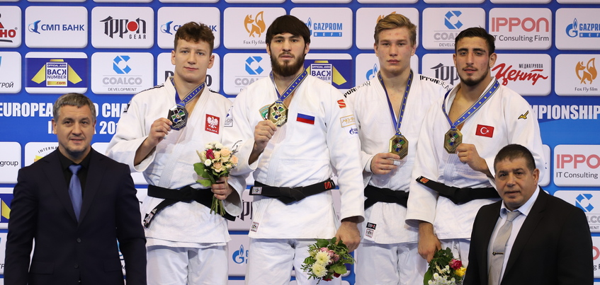 Сборная России завоевала еще одно золото на Первенстве Европы по дзюдо в Ижевске