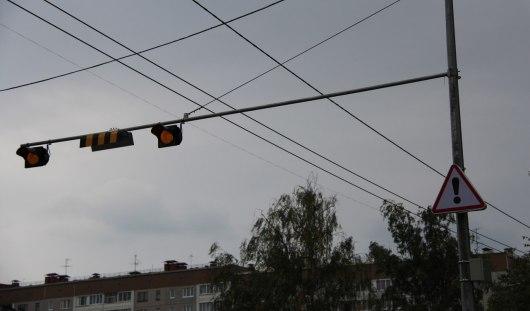 В Ижевске на перекрестке улиц Удмуртской и Холмогорова появилась подсветка