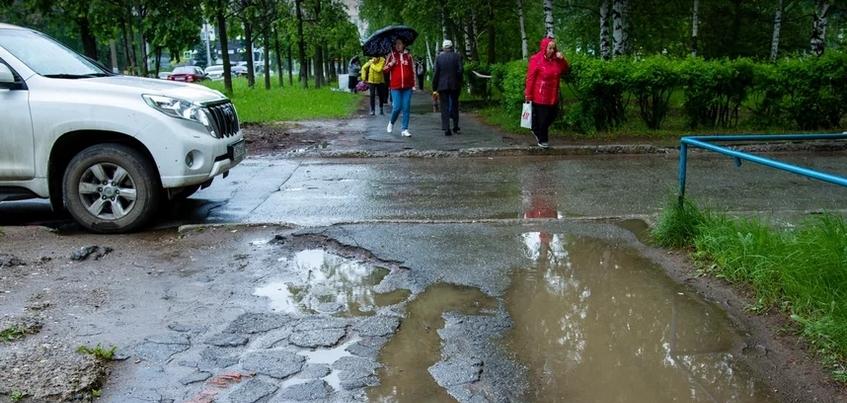 Какие объекты попали в Топ-10 «убитых» тротуаров Ижевска?