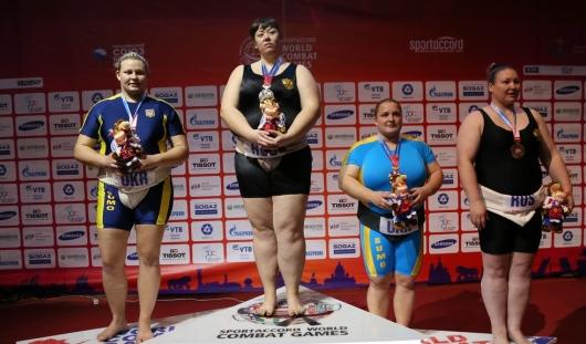 Сумоистка из Воткинска стала чемпионкой мира в 11-й раз