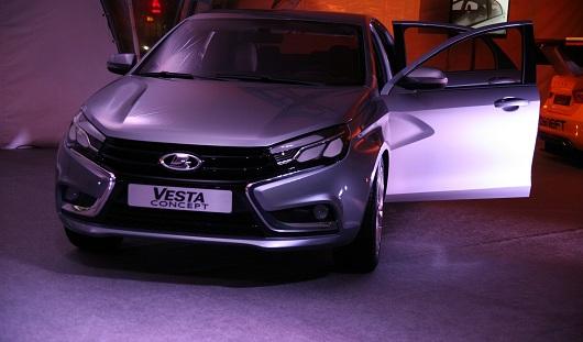 В Ижевске презентовали концепт Lada Vesta
